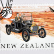 NEW ZEALAND - CIRCA 2003: A stamp printed in New Zealand dedicated to old cars, shows 1915 Model T Ford, circa 2003 — Stock Photo #28902555