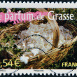FRANCE - CIRCA 2007: A stamp printed in France shows the scent of Grasse, circa 2007 — Stock Photo