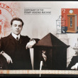 NEW ZEALAND - CIRCA 2005: a stamp printed in New Zealand dedicated to centenary of the stamp vending machine, circa 2005 — Stock Photo #29134889