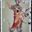 MALTA - CIRCA 2008: a stamp printed in Malta shows St. Paul, circa 2008 — Stock Photo