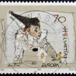 SWITZERLAND - CIRC2002: stamp printed in Switzerland shows Clown, circ2002 — Stock Photo #29134959