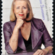 AUSTRALIA - CIRCA 2011: A stamp printed in Australia shows Anne Summers, australian legends, circa 2011 — Stock Photo