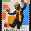 Stock Photo: AUSTRALI- CIRC1999: stamp printed in Australidedicated to children s TV shows Here s Humphrey, circ1999