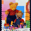 Stock Photo: AUSTRALI- CIRC1999: stamp printed in Australidedicated to childrens TV shows Play school, circ1999