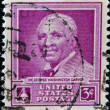 UNITED STATES OF AMERIC- CIRC1948 : stamp printed in USshows Dr George Washington Carver, circ1948 — Stock Photo #29385373