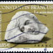 FRANCE - CIRC2006: stamp printed in France shows Sculptures by Constantin Brancusi, circ2006 — Stock Photo #29385843