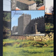 PORTUGAL - CIRCA 2005: stamps printed in Portugal dedicated to the historic villages of Portugal, shows Trancoso, living presence of history, circa 2005 — Stock Photo