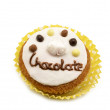 Cupcake, chocolate — Stock Photo