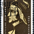 GERMANY - CIRCA 1979: a stamp printed in Germany shows Dante Alighieri, Italian Poet, circa 1979 — Stock Photo