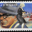 UNITED STATES OF AMERICA - CIRCA 2012: A stamp printed in USA dedicated to the Great Film Directors First-Class Forever, shows Billy Wilder, circa 2012  — Stock Photo