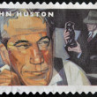 Stock Photo: UNITED STATES OF AMERICA - CIRCA 2012: A stamp printed in USA dedicated to the Great Film Directors First-Class Forever, shows John Huston, circa 2012
