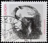 GERMANY - CIRCA 1996: A stamp printed in Germany shows Kathe Kollwitz, circa 1996 — Stock Photo