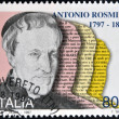 ITALY - CIRCA 1997: stamp printed in Italy shows Antonio Rosmini, Philosopher, circa 1997 — Stock Photo