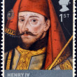 UNITED KINGDOM - CIRCA 2008: A stamp printed in Great Britain shows Henry IV, circa 2008 — Stock Photo #31844025