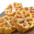 Stock Photo: Flores fritas or flores de pascua, typical Easter dessert Spain