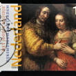 "NETHERLANDS - CIRC1999: stamp printed in Holland shows image of Rembrandt painting ""Jewish Bride"" which is housed in Rijksmuseum, circ1999 — Stock Photo #33684067"