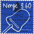 NORWAY - CIRCA 1999: A stamp printed in Norway shows Cheese slicer, circa 1999 — Stock Photo
