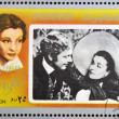 Постер, плакат: FUJEIRA CIRCA 1972 : stamp printed in Fujeira shows actress Vivien Leigh circa 1972
