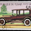 CHAD - CIRCA 1999: A stamp printed in Chad shows vintage car, Pierce Arrow, USA, circa 1999  — Stock Photo