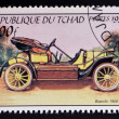 CHAD - CIRCA 1999: A stamp printed in Chad shows vintage car, circa 1999  — Stock Photo