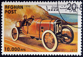AFGHANISTAN - CIRCA 1999: A stamp printed in Afghanistan shows vintage car, circa 1999 — Stock Photo