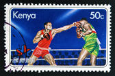 KENYA - CIRCA 1978: A stamp printed in Kenya shows image of boxing, circa 1978. — Stock Photo