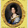 Stock Photo: ITALY - CIRC2013: stamp printed in Italy shows AnnMariLuisde Medici, circ2013