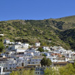 Overview of Torvizcon, small Moorish village in Las Alpujarras. Granada, Spain — Stock Photo