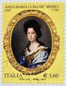 ITALY - CIRCA 2013: A stamp printed in Italy shows Anna Maria Luisa de Medici, circa 2013 — Stock Photo