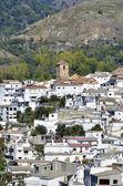 Overview of Cadiar, small Moorish village in La Alpujarra. Granada, Spain — Stock fotografie