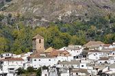 Overview of Cadiar, small Moorish village in La Alpujarra. Granada, Spain — Photo