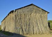 Old tobacco farm, facade — Stock Photo