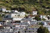 Overview of Torvizcon, small Moorish village in Las Alpujarras. Granada, Spain — 图库照片