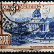 BRAZIL - CIRCA 1962: A stamp printed in Brazil shows Monroe Palace, Rio de Janeiro, circa 1962 — Stock Photo