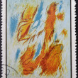 Stock Photo: CUB- CIRC1968: Stamp printed in Cubcommemorative to May Salon, 1967, shows Bathers. by G. Singier, circ1968