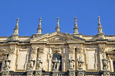 Front of Cathedral of Jaen, Andalusia, Spain — Stock Photo