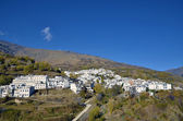 Trevelez town in Sierra Nevada, Granada — Stock Photo
