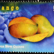 PAPUA NEW GUINEA - CIRCA 2000: A stamp printed in Papua shows mango, circa 2000 — Stock Photo