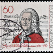 GERMANY - CIRCA 1981: A stamp printed in Germany shows Georg Philipp Telemann, circa 1981 — Stock Photo #41424521