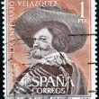 SPAIN - CIRCA 1961: A stamp printed in Spain shows Portrait of the Count-Duke of Olivares by Velazquez, circa 1961 — Stock Photo #41424865