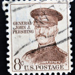 UNITED STATES OF AMERICA - CIRCA 1960: A stamp printed in USA shows general John J. Pershing, circa 1960 — Stock Photo #41425531
