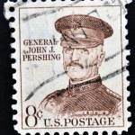 UNITED STATES OF AMERICA - CIRCA 1960: A stamp printed in USA shows general John J. Pershing, circa 1960 — Stock Photo