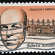 UNITED STATES OF AMERIC- CIRC1983: stamp printed in USshows Edwin Howard Armstrong (1890-1954) was Americelectrical engineer and inventor, circ1983 — Stock Photo #41425577