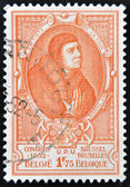 BELGIUM - CIRCA 1952: A stamp printed in Belgium shows Jean Baptiste Leschenault de la Tour - French botanist and ornithologist, circa 1952 — Stock Photo