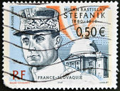 FRANCE - CIRCA 2003: stamp printed in France shows Stefanik, circa 2003 — Stock Photo
