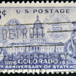 UNITED STATES OF AMERICA - CIRCA 1951: A stamp printed in USA dedicated to 75 years anniversary of Statehood, circa 1951 — Stock Photo