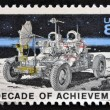 USA - CIRCA 1971: A stamp printed in United States of America shows Lunar Rover, Apollo 15 moon exploration mission July 26-August 7, circa 1971 — Stock Photo #44907703