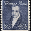 UNITED STATES OF AMERICA - CIRCA 1969: A stamp printed in USA shows portrait of Thomas Paine by John Wesley Jarvis, circa 1969 — Stock Photo