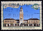 AUSTRALIA - CIRCA 1992: a stamp printed in the Australia shows Post Office, Kalgoorlie, Western Australia, circa 1992 — Stock Photo