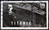 IRELAND - CIRCA 2012: a stamp printed in Ireland shows an image of Titanic, circa 2012. — Stock Photo